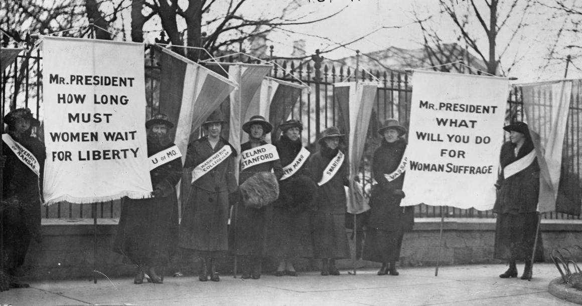 suffrage, women, voting