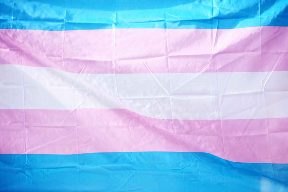 trans, transgender, flag